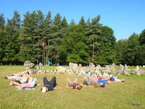 Warsztat Szamański «Śmierć i Odrodzenie czyli Drugi Brzeg i Spirala Życia», sierpień 2015, Rezerwat Wilków, Litwa