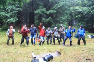 Force de la Masculinité – stage dans les montagnes sauvages, sept. 2017, Nowa Morawa, Pologne