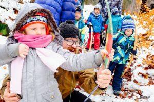 Aventure d'hiver – Famille dans les montagnes, Jan. 2018, Gniewoszow, Pologne